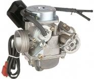 Karburators 125 cm3 4-taktu motorolleriem , dzinēja tips -152QMB