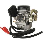 Karburators 49 cm3 4-taktu motorolleriem , dzinēja tips -139QMB