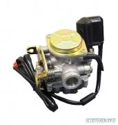 Karburators 72 cm3 4-taktu motorolleriem , dzinēja tips -139QMB