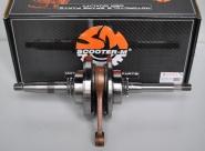 Kloķvārpsta 125 cm3 4-taktu motorolleriem